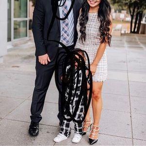 Zara tweed skort / dress